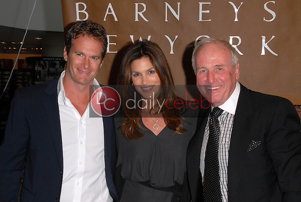 Rande Gerber, Cindy Crawford and Jerry Weintraub<br /> at a celebration of Jerry Weintraub's New Book &quot;When I Stop Talking You'll Know I'm Dead,&quot; Barney's New  York, Beverly Hills, CA. 05-18-10<br /> David Edwards/Dailyceleb.com 818-249-4998