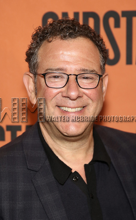 Michael Greif attends the cast photo call for the Second Stage production of  'A Parallelogram' at the Second Stage rehearsal studios on June 29, 2017 in New York City.