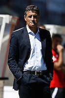 02.09.2012 SPAIN -  La Liga 12/13 Matchday 3rd  match played between Rayo Valelcano vs Sevilla Futbol Club (0-0) at Campo de Vallecas stadium. The picture show Miguel Gonzalez Martin del Campo coach of Sevilla futbol Club