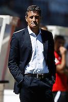 02.09.2012 SPAIN -  La Liga 12/13 Matchday 3rd  match played between Rayo Valelcano vs Sevilla Futbol Club (0-0) at Campo de Vallecas stadium. The picture show Miguel Gonzalez Martin del Campo coach of Sevilla futbol Club