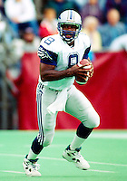Tracy Ham Baltimore Stallions 1995. Photo F. Scott Grant