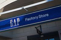 Gap Outlet store is pictured in Tanger Outlets in Sevierville,  Tennessee Thursday March 20, 2014.