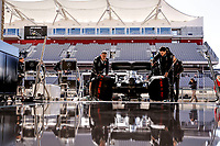 31st October 2019; Circuit of the Americas, Austin, Texas, United States of America; F1 United States Grand Prix, team arrival day;  Mechanics of Mercedes AMG Petronas Motorsport