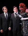 Matthew Broderick & Nathan Lane & Gary Beach (The Producers) performing in STRO! The Vineyard Theatre Annual Spring Gala honors Susan Stroman at the Hudson Theatre in New York City.