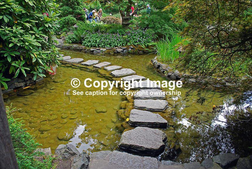 Butchart Gardens, National Historic Site of Canada,  Brentwood Bay, Vancouver Island, Canada, 200809091191, flowers, shrubs, trees, water feature, Japanese Garden..Copyright Image from Victor Patterson, 54 Dorchester Park, Belfast, N Ireland, BT9 6RJ...Tel: +44 28 9066 1296.Mob: +44 7802 353836.Email: victorpatterson@mac.com..IMPORTANT: For copyright information go to www.victorpatterson.com and click on Terms and Conditions