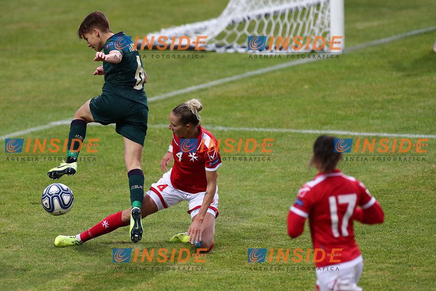 Manuela Giugliano of Italy in action<br /> Castel di Sangro 12-11-2019 Stadio Teofolo Patini <br /> Football UEFA Women's EURO 2021 <br /> Qualifying round - Group B <br /> Italy - Malta<br /> Photo Cesare Purini / Insidefoto