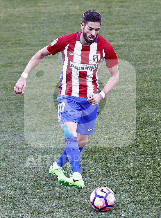 Atletico de Madrid's Yannick Ferreira Carrasco during La Liga match. March 19,2017. (ALTERPHOTOS/Acero)