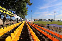 General view of the ground ahead of Leicestershire CCC vs Essex CCC, Specsavers County Championship Division 2 Cricket at the Fischer County Ground, Grace Road on 24th August 2016