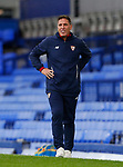 Sevilla's Manager Eduardo Berizzo during the pre season friendly match at Goodison Park Stadium, Liverpool. Picture date 6th August 2017. Picture credit should read: Paul Thomas/Sportimage