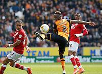 Hull City v Bristol City 2.4.16 .Sky Bet Championship ....... Hulls Moses Odubajo