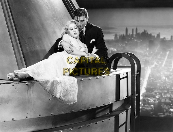 Fay Wray, Bruce Cabot.in King Kong (1933) .*Filmstill - Editorial Use Only*.CAP/NFS.Supplied by Capital Pictures.