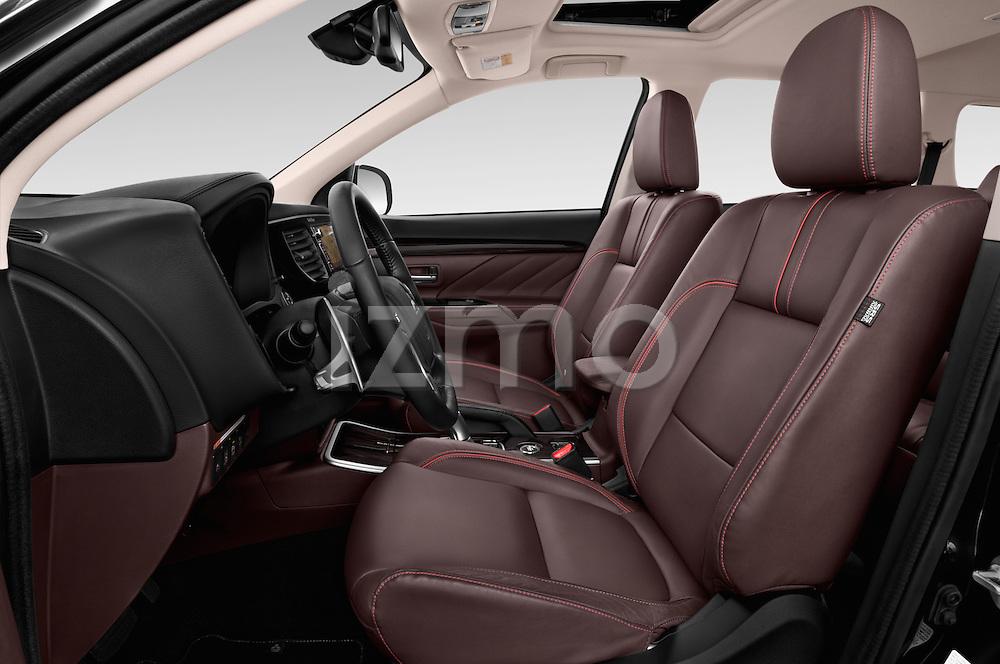 Front seat view of 2016 Mitsubishi Outlander Phev PHEV 5 Door Suv Front Seat  car photos