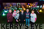 Purcell's family turning on the Christmas Lights in aid of St Joseph's Home Killorglin and Recovery Heaven Killorglin last Thursday night. Pictured l-r Siobhan MacSweeney (Recovery Heaven), Denise Purcell, Michael Healy Rae TD, Joe Purcell and Catherine O'Donoghue (Recovery Heaven).