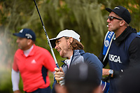Tommy Fleetwood (ENG) watches his tee shot on 2 during round 1 of the 2019 US Open, Pebble Beach Golf Links, Monterrey, California, USA. 6/13/2019.<br /> Picture: Golffile | Ken Murray<br /> <br /> All photo usage must carry mandatory copyright credit (© Golffile | Ken Murray)