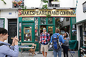 Shakespeare and Company Bookstore, Latin Quarter, Paris