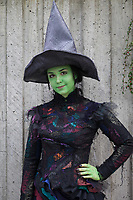 Green Wicked Witch, Emerald City Comicon, Seattle, WA, USA.