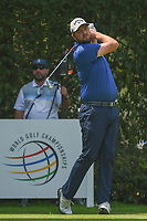 Marc Leishman (AUS) watches his tee shot on 12 during round 2 of the World Golf Championships, Mexico, Club De Golf Chapultepec, Mexico City, Mexico. 3/2/2018.<br /> Picture: Golffile | Ken Murray<br /> <br /> <br /> All photo usage must carry mandatory copyright credit (&copy; Golffile | Ken Murray)