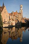 Belfort - Belfry, Bruges, Belgium, Europe