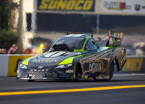 NHRA Mello Yello Drag Racing Series<br /> Dodge NHRA Nationals<br /> Maple Grove Raceway<br /> Reading, PA USA<br /> Friday 22 September 2017 Alexis DeJoria, Patron, funny car, Toyota, Camry<br /> <br /> World Copyright: Mark Rebilas<br /> Rebilas Photo
