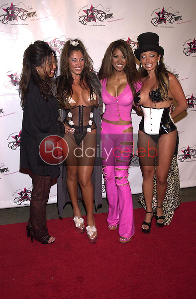 Traci Bingham and friends