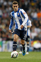 24.03.2012 SPAIN -  La Liga matchday 30th  match played between Real Madrid CF vs Real Sociedad (5-1) at Santiago Bernabeu stadium. The picture show Antoine Griezmann (forwards of Real Sociedad)