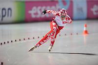 SCHAATSEN: BOEDAPEST: Essent ISU European Championships, 06-01-2012, 3000m Ladies, Olga Graf RUS, uitrijden na wedstrijd, ©foto Martin de Jong