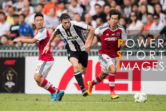 Juventus' player Mattia Vitale in action during the South China vs Juventus match of the AET International Challenge Cup on 30 July 2016 at Hong Kong Stadium, in Hong Kong, China.  Photo by Marcio Machado / Power Sport Images