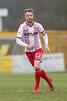 Dean Bowditch of Stevenage during Stevenage vs Crewe Alexandra, Sky Bet EFL League 2 Football at the Lamex Stadium on 10th March 2018