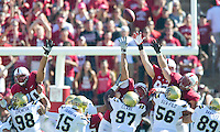 Stanford, California - Saturday, October 19, 2013: The Stanford Football team defeated UCLA 24-10 at Stanford Stadium.