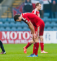 Aberdeen's Andrew Considine at the end of the game.