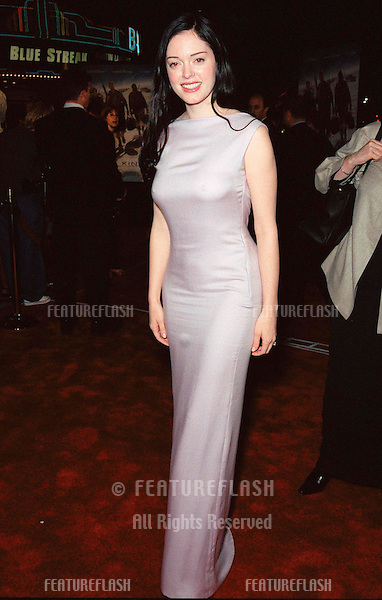 "27SEP99: Actress ROSE McGOWAN at the world premiere, in Los Angeles, of ""Three Kings"" which stars George Clooney..© Paul Smith / Featureflash"