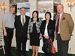 Fr Iggy O'Donovan, Sean Collins, Rosemary Yore Chairperson of the Francis Ledwidge Museum, Maura Matthews and Journalist Kevin Myers pictured at the World War One senimar held in the conyngham Arms hotel Slane. Photo:Colin Bell/pressphotos.ie
