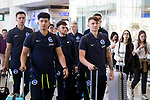 Team arrivals for HKFC Citi Soccer Sevens 2018 at Hong Kong International Airport on 16 May 2018, in Hong Kong, Hong Kong. Photo by Yuk Man Wong / Power Sport Images