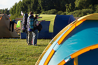 German IST scouts arriving to the camp. Photo: Magnus Fröderberg/Scouterna