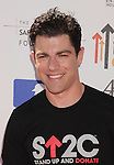 LOS ANGELES, CA - SEPTEMBER 07: Max Greenfield arrives at Stand Up To Cancer at The Shrine Auditorium on September 7, 2012 in Los Angeles, California.