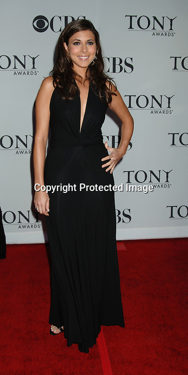 Jamie Lynn Sigler..arriving at the 60th Annual Tony Awards on June11, 2006..at Radio City Music Hall. ..Robin Platzer, Twin Images