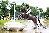BRA-Marcio Carvalho Jorge rides Lissy Mac Wayer during the British Open Championship Incorporating the Event Rider Masters CIC3* Cross Country. 2017 GBR-Festival of British Eventing at Gatcombe Park. Sunday 6 August. Copyright Photo: Libby Law Photography