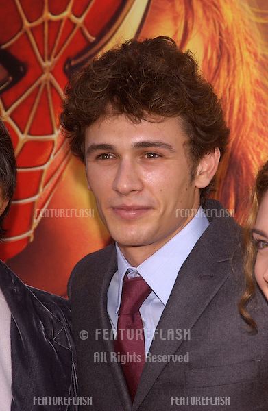 Actor JAMES FRANCO at the Los Angeles premiere of his new movie Spider-Man 2..June 22, 2004