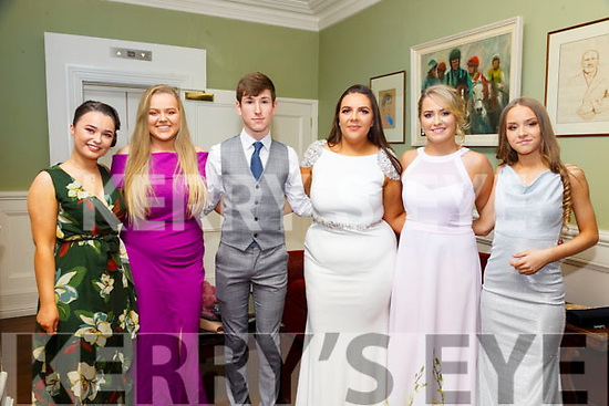 North Kerry Harriers Hunt Ball: Attending  the North Kerry Hunt Ball at the Listowel Arms Hotel on Saturday night last were Ciara Walsh, Niamh Turley, Corey Cahill, Amaay O'Brien, amy Carmody & Jessica Stack.