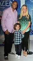"HOLLYWOOD, CA - NOVEMBER 19: Hank Baskett, Kendra Wilkinson Baskett at the World Premiere Of Walt Disney Animation Studios' ""Frozen"" held at the El Capitan Theatre on November 19, 2013 in Hollywood, California. (Photo by David Acosta/Celebrity Monitor)"