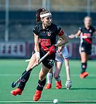 AMSTELVEEN - Eva de Goede (A'dam)  tijdens de hoofdklasse competitiewedstrijd hockey dames,  Amsterdam-Oranje Rood (5-2). COPYRIGHT KOEN SUYK