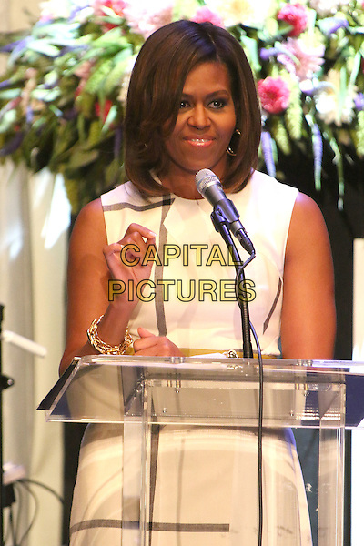 16 July 2014 - Los Angeles, California - Michelle Obama. The GRAMMY Museum's Jane Ortner Education Award Luncheon held at Club Nokia LA Live. <br /> CAP/ADM/BP<br /> &copy;Byron Purvis/AdMedia/Capital Pictures