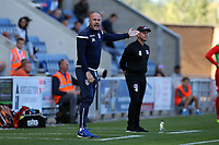 \Col Utd's managr John McGreal during Colchester United vs Leyton Orient, Sky Bet EFL League 2 Football at the JobServe Community Stadium on 21st September 2019