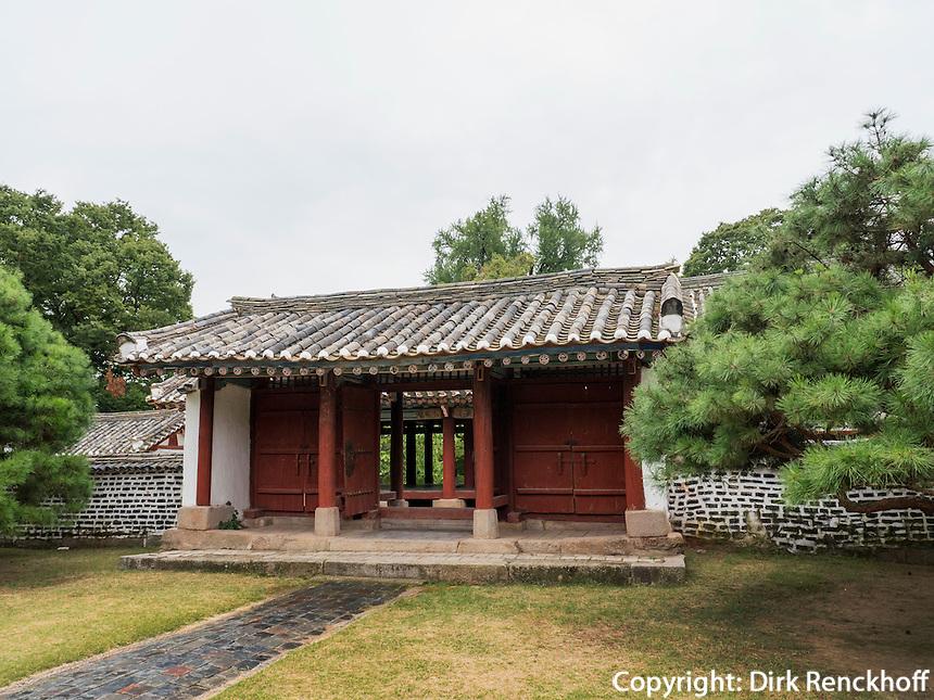 Koryo-Museum bei Kaesong, Nordkorea, Asien, UNESCO-Weltkulturerbe<br /> Koryo-Museum near Kaesong, North Korea, Asia, world heritage