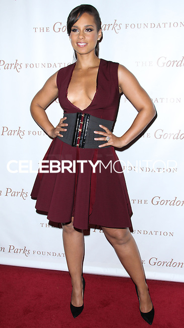 NEW YORK CITY, NY, USA - JUNE 03: Singer Alicia Keys arrives at the 2014 Gordon Parks Foundation Awards Dinner & Auction held at Cipriani Wall Street on June 3, 2014 in New York City, New York, United States. (Photo by Jeffery Duran/Celebrity Monitor)
