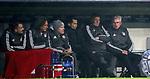 20.02.2018, Allianz Arena, München, GER, UEFA CL, FC Bayern München (GER) vs Besiktas Istanbul (TR) , im Bild<br />Trainer Jupp Heynckes (München), Co-Trainer Peter Hermann (München), Sportdirektor Hasan Salihamidzic (München)<br /><br /><br /> Foto © nordphoto / Bratic