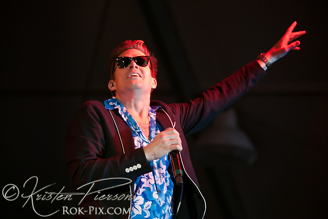 Sugar Ray performs at Newport Waterfront Events August 4, 2013