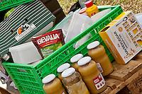 Food-storage in the Austrian camp. Photo: Kim Rask/Scouterna