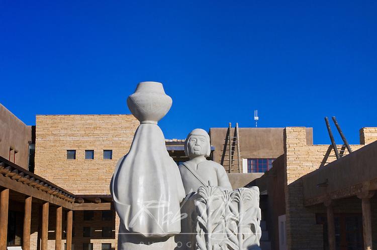 USA, NM, Acoma Pueblo, Sky City Cultural Center