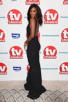 LONDON, UK. September 10, 2018: Victoria Ekanoye at the TV Choice Awards 2018 at the Dorchester Hotel, London.<br /> Picture: Steve Vas/Featureflash